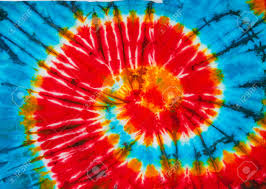 Tie Dye Swirl Design Spiral Tie Dye Design For Background