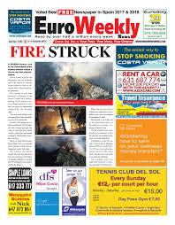 Euro Dog Designs Coupon Code Euro Weekly News Costa Del Sol 3 9 October 2019 Issue