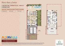 3 bedroom maids cornerunit total area 1 931 sqft floor plan