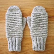 Mittens Pattern Mesmerizing Cozy Purl Ridge Mittens Knitting PDF Wiksten