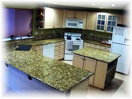 granite counters and sinks