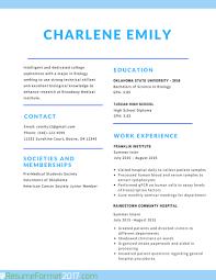 Best Resume Format 2017 Best Resume Format Best Resume and CV Inspiration 36