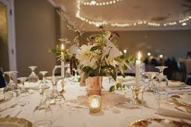 cafe au lait centerpieces