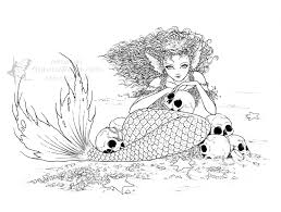 Small Picture iColor Mermaids iColor Mermaids Pinterest Evil fairy
