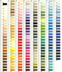 36 Competent Mettler Metrosene Thread Color Chart