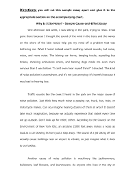 Writing A Cause And Effect Essay Examples Ajrhinestonejewelry Com