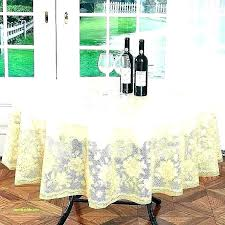 stay put elastic tablecloth round table cover with fitted plastic tablecloths