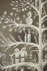Bildergebnis Für Winterfenster Kreide Fensterbilder