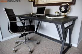 Image Diy Truss Desk Rogue Engineer Home Office Diy Funiture Plans Rogue Engineer
