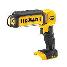 dewalt flashlight 18v. dewalt 500/250lm 18v led hand held area-light dcl050n worklight body only dewalt flashlight
