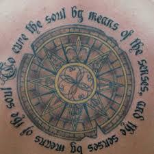 значение татуировки мандала символика тату A Murti Schofield