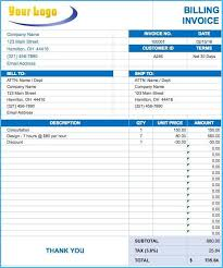 Ms Excel Invoice Amusing Microsoft Excel Invoice Template To Make Sample