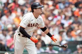 SF Giants' Wilmer Flores homers, exits ...