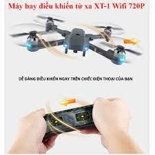 Camera Flycam XT-1 ✓chính hãng✔️ Kết nối Wifi 2.4 GHz quay phim, chụp ảnh Full  HD 720P, Chống rung. - Hệ thống camera giám sát