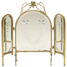 Three Way Vanity Mirror Three Way Vanity Dressing Table Mirror For Sale At 1stdibs