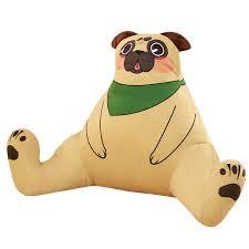 cute dog plush soft toy pug bulldog poodle stuffed funny kawaii birthday gift for kid
