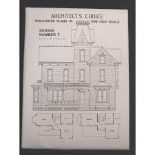 dollhouse plans design 7 architect s choice 1 12 scale victorian queen anne