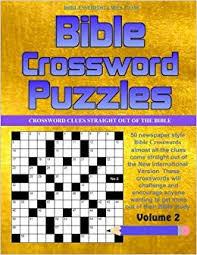 Bible Crossword Puzzles Vol 2 50 Newspaper Style Bible