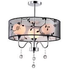classic black fabric bedroom ceiling lamp jpg