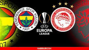 Fenerbahçe - Olympiakos maçı saat kaçta? 30 Eylül Perşembe Fenerbahçe -  Olympiakos maçı hangi kanalda, ne zaman, saat kaçta? - Haberler