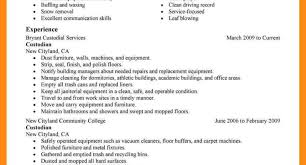 Best Janitor Job Resumes Contemporary Resume Ideas Namanasa Com