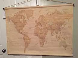 world map for wall hanging page 1