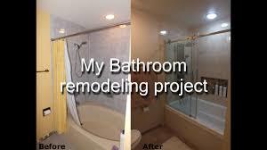 step by step diy bathroom remodeling project