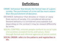 crime and deviance crime and deviance wjec a2 sociology 2 definitionscrime behaviour
