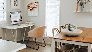 dozen home workspaces. Modren Dozen Dozen Home Workspaces Julie Stuartu0027s Office Is Now In Her Dining  Room Inside Dozen Home Workspaces O