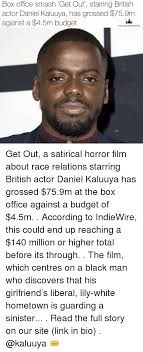 There was a moment filming judas and the black messiah that star daniel kaluuya will not forget. Box Office Smash Get Out Starring British Actor Daniel Kaluuya Has Grossed 759m Against A 45m Budget The Young Empire Get Out A Satirical Horror Film About Race Relations Starring British Actor
