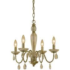 af lighting judy 4 light soft gold mini chandelier