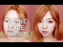 howtomakeup v line face shape makeup tutorial littlemissboo