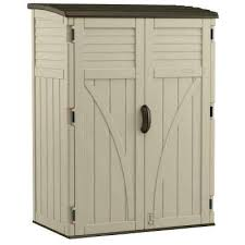 plastic tool sheds storage 2 ft 8 in x 4 ft 5 in x 6 ft plastic tool sheds storage