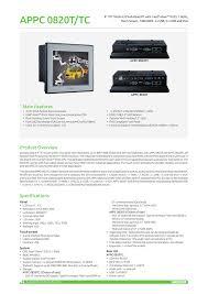 appc0820tc ver b nexcom panel pc