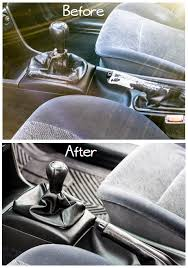 reupholster a shift boot and hand brake