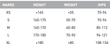 Mares Kaila Size Chart Mares Bcd Prestige Sls Bl