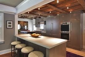 kitchens with track lighting. Image Of: Traditional Kitchen Track Lighting Kitchens With