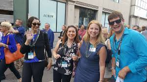 """Prabu David on Twitter: """"Our @WKAR team at the #PBS annual meeting in New  Orleans, which included a parade and a show at the House of Blues. Shhh...  there was some dancing,"""