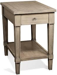 Round Chairside Table Riverside Furniture Parkdale Round End Table With Decorative Open