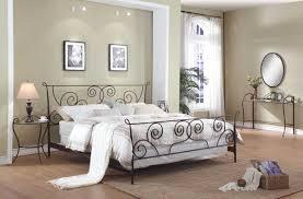 Metal Bedroom Furniture Modern Metal Bed