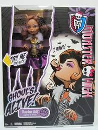 monster high ghouls alive clawadeen wolf doll she throws her head back howls it s a scary cool way to play be yourself be unique be a monster