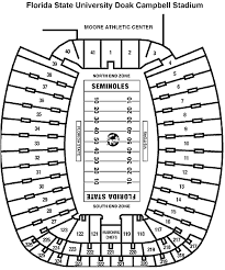Doak Campbell Seating Chart Rows Florida State Seminoles 2018 Football Schedule