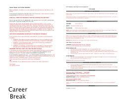 Sample Resume After Career Break