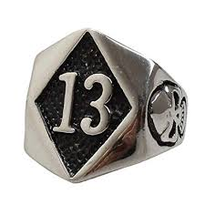13 evil skull motorcycle biker ring silver gold amazon