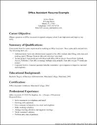 Office Clerk Sample Resume Ha