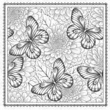 Flower Coloring Pages For Adults Printable Free Coloring Sheets