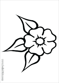 Summer Flower Coloring Pages Summer Flower Coloring Pages Flower