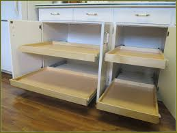 Kitchen Roller Drawers For Kitchen Cabinets Base Cabinet Pull Out