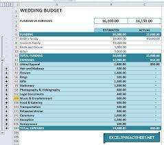 Sample Wedding Budget Spreadsheet 20 Useful Wedding Spreadsheets Excel Spreadsheet