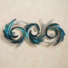metal wall art sculptures touch of class for most recently released abstract metal fish wall
